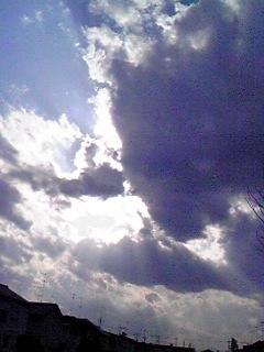 雲の切れ間