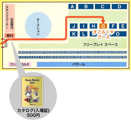 浅草ゲームマーケット2007:ブースガイド