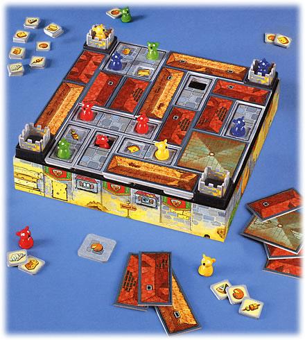 チーズのお城:遊戯中