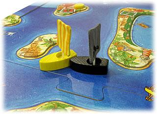 海賊ブラック:海賊船が乗り込む