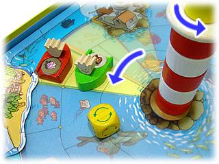 やみ商人の島:回る灯台