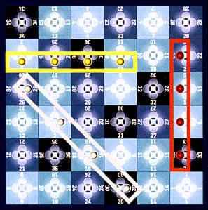 ジャスト・フォ・ファン:4マスの直線