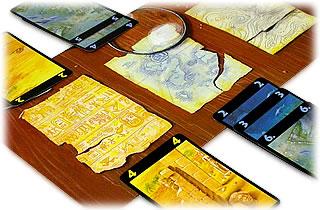 ロストシティ:カードを置いて探検