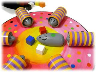 ネズミのメリーゴーランド:ミス