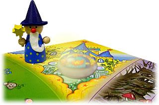 水晶をとりもどせ!:魔法使いのお城
