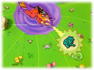 水晶をとりもどせ!:カエル化の呪い