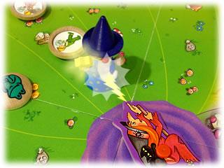 水晶をとりもどせ!:呪いから守る