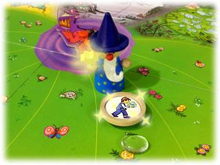 水晶をとりもどせ!:魔法使いが元に戻す