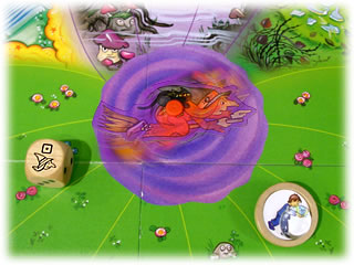 水晶をとりもどせ!:魔女ルーレット