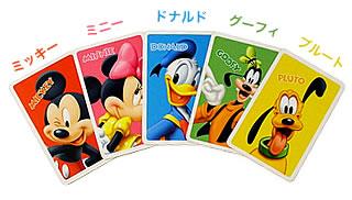 ミッキー5リンクス:5人のキャラクター