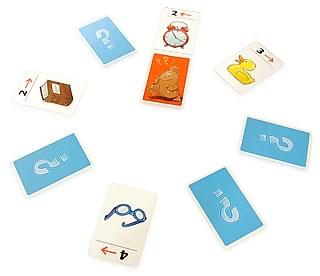 ハンカチ落とし:得点カードに到達