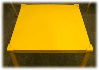 店のプレイテーブル