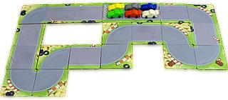レーシングゲーム・フルスピード:コース