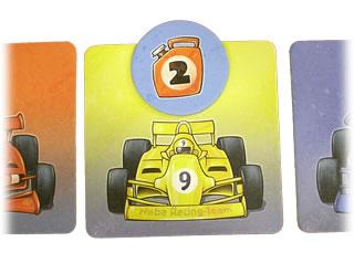 レーシングゲーム・フルスピード:チップ2を置く