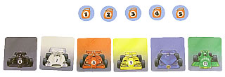 レーシングゲーム・フルスピード:チップのリセット