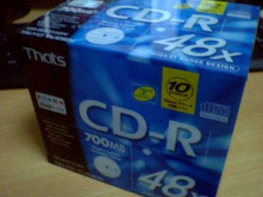 普通のCD-R