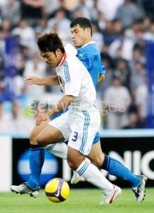 Yuichi Komano  Uzbekistan v Japan - 2010 FIFA World Cup Asian Qualifier