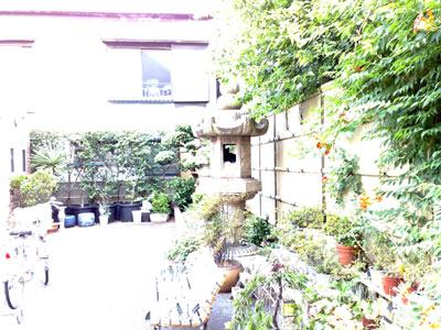 立派なお庭