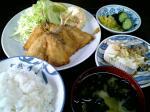 山田ホームレストラン 本日の定食Cアジフライ004