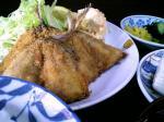 山田ホームレストラン 本日の定食Cアジフライ006