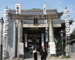 櫛田神社外観