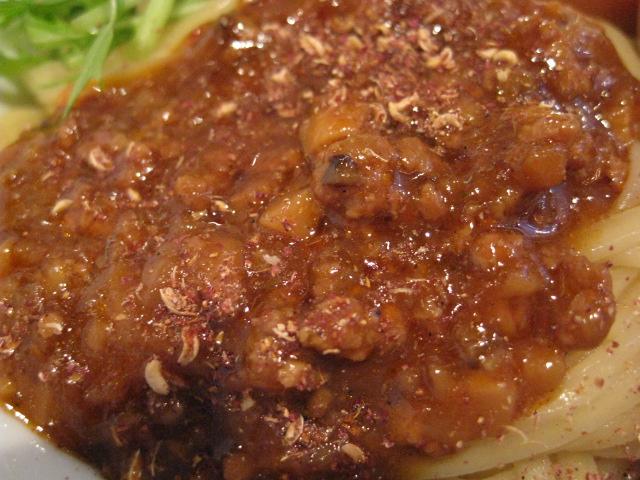 伊駄天冷やし担々つけ麺20090522-03