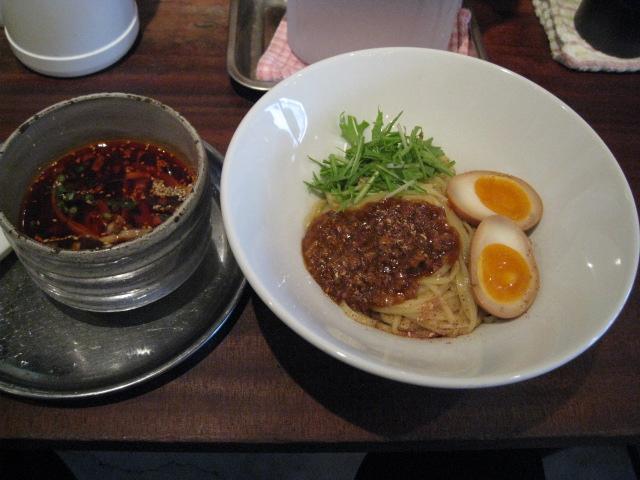 伊駄天冷やし担々つけ麺20090522-01