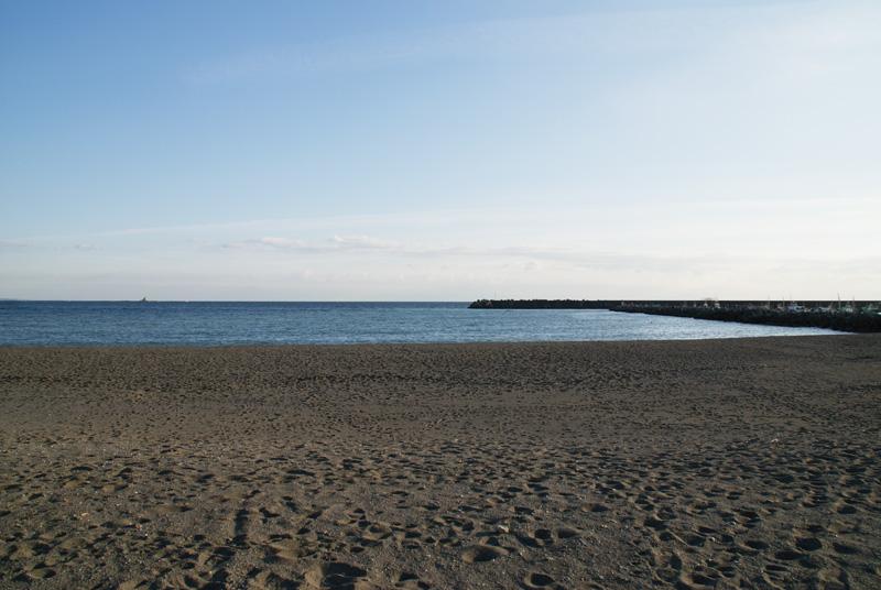 茅ヶ崎海岸正面