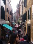 ヴェネチアの街中