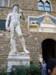 広場にあるダビデ像