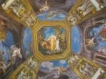 セントピエトロ寺院内の天井画
