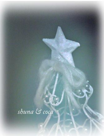 星のツリー。。