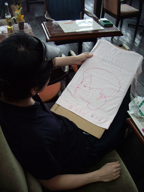 ライブペインティング タカ見トシ宏