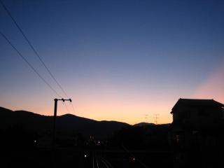 夕日スポット