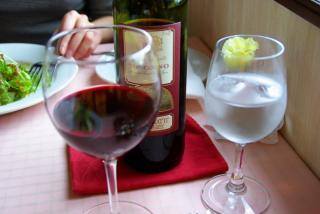 ワインなどを・・・
