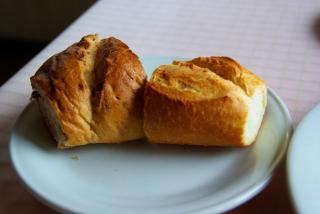 パンは焼きたて。。。