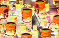 CR寿司だニャン - お茶群