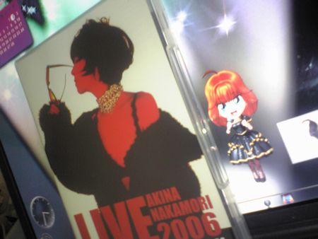 中森明菜DVD 『LIVE TOUR THE LAST DESTINATION』