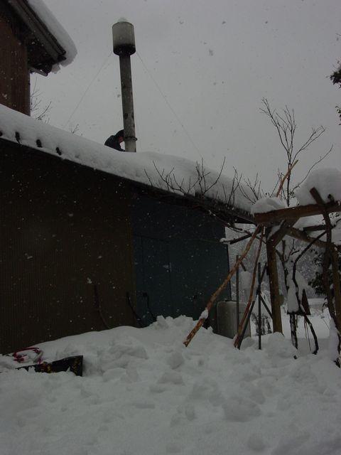 2008雪下ろし