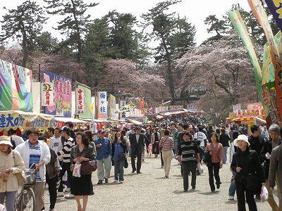 Hirosaki Cherryblossom festival