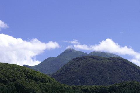 岩木山の裏側