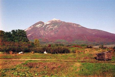 紅葉の岩木山