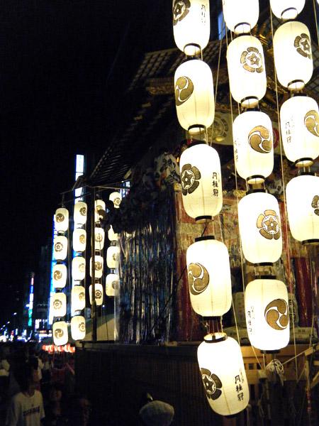 四条通/宵々々山の夜