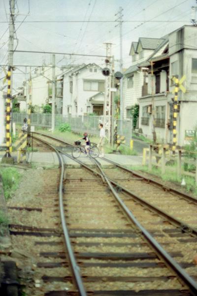 龍安寺駅踏切