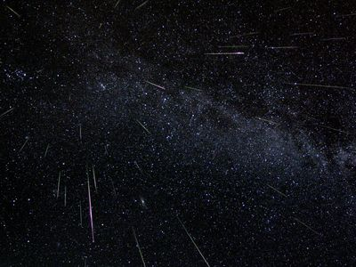 ペルセウス座流星群 イメージ