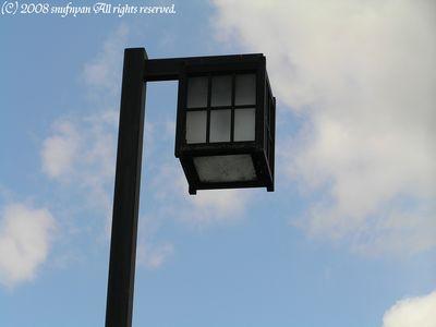 街灯はこんな形