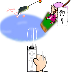 Wii的 釣り