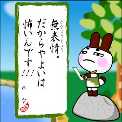 どうぶつの森 川柳 2007 第9句