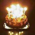 12歳ケーキ(燃笑)