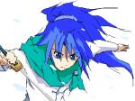 青い(´д`)
